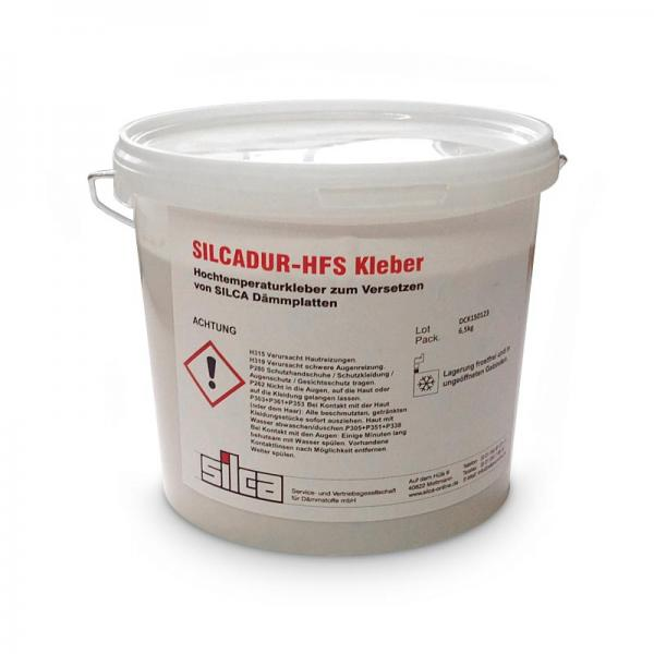 Silcadur HFS hitzebeständiger Kleber 6,5 Kg Eimer Wärmedämmplatte