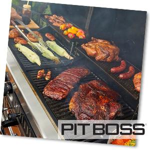 Grillfläche des Pit Boss Memphis Ultimate