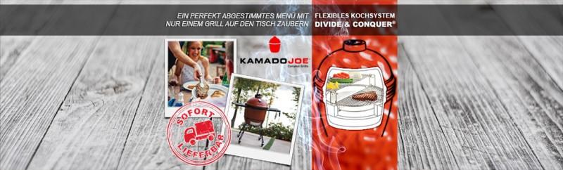 Von den Kamado Joe Angeboten profitieren und sofort liefern lassen!