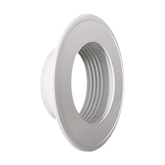 Rosette für Thermo- u. Aluflexrohr AA-Kaminwelt d 100 mm Weiß