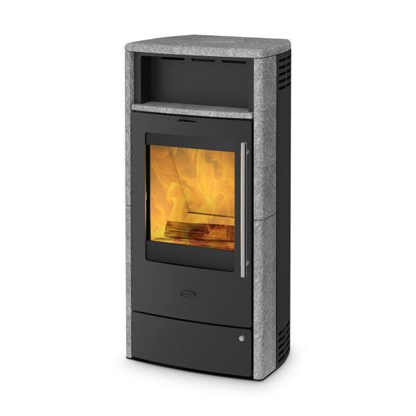 Dauerbrandofen Fireplace Torino Speckstein 6 kW