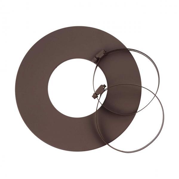 D 125 MM Rosette pour aluflexrohr