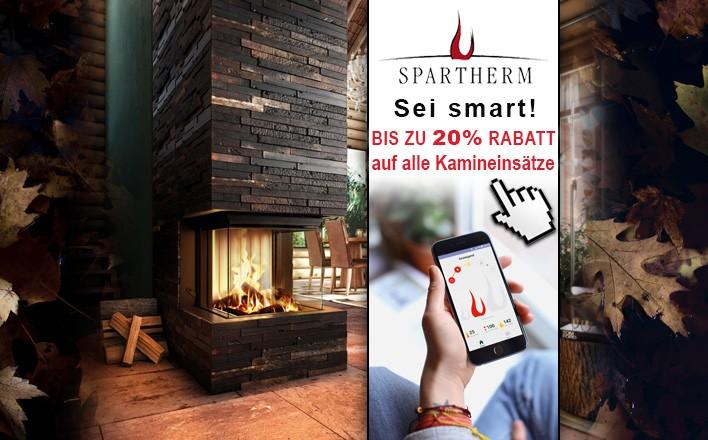 Sei smart: mit Spartherm sparen und Komfortvorteile genießen