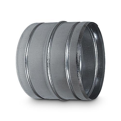 Verbindungsstück für Aluflexrohr AA-Kaminwelt d 80 mm