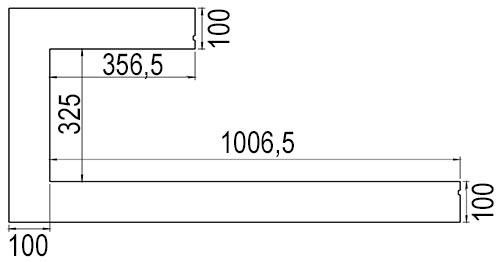 dru-metro-100xtl-41-einbaublende-links-zeichnung