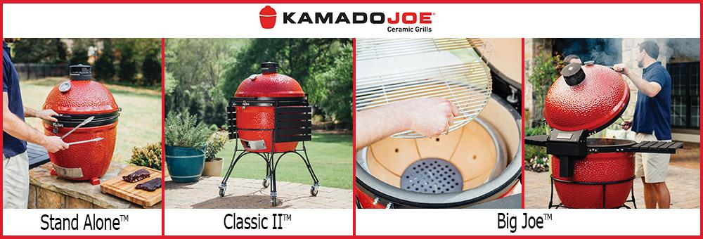 Die Marke Kamado Joe ist ein Spezialist auf dem gebiet der keramikgrills. Ihre Produkte zeichnen sich durch Perfektion aus, die die Schwächen von Vorreiter Produkten ausgemärzt und somit mit besonderer Anwenderfreundlichkeit punktet.