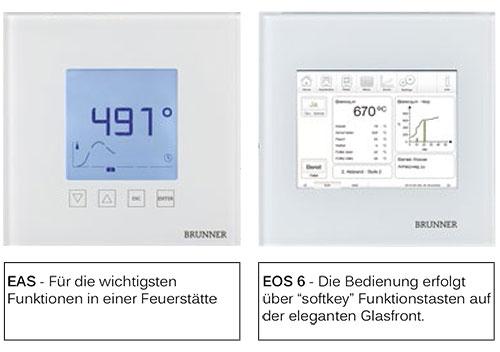 Brunner Abbrandsteuerung EAS & EOS