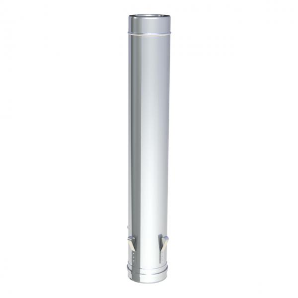 Jeremias LAS Längenelement 1000 mm mit Versteifungsring und 4 Ablassösen DN 130/200 mm