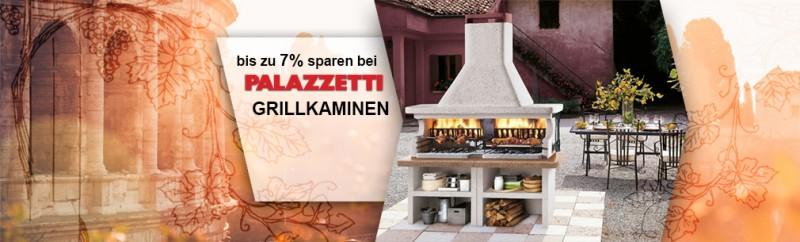 Bis zu 7% bei Palazzetti-Grillkaminen sparen!