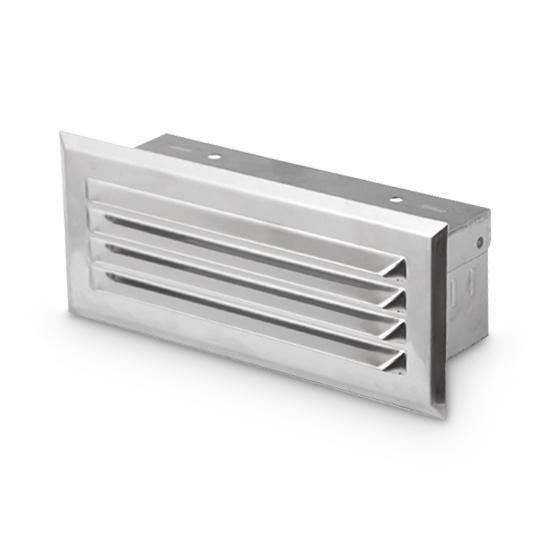 Wetterschutzgitter für Schächte AA-Kaminwelt 150 x 50 mm