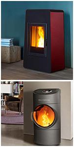 pelletofen ohne gebl se shop ruhe beim heizen i. Black Bedroom Furniture Sets. Home Design Ideas