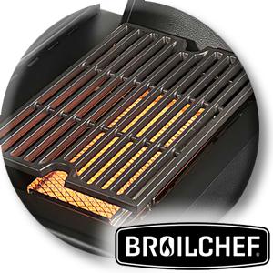 Infrarotseitenbrenner der Marke Broilchef