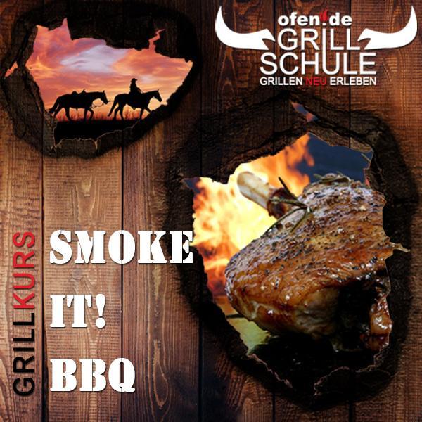 Gutschein Grillkurs - Smoke it!-BBQ