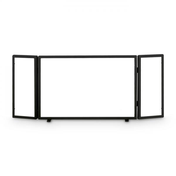 3tlg. Funkenschutzgitter aus Glas Heibi 52293-025
