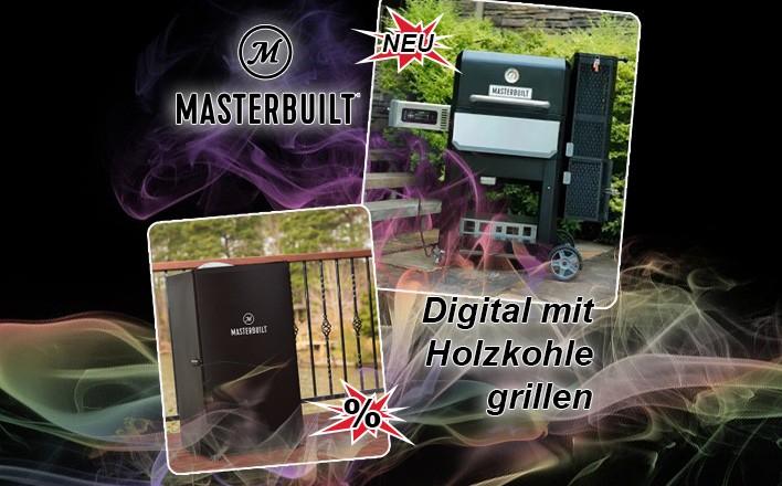 Masterbuilt - vom Angebotspreis profitieren und sofort liefern lassen!