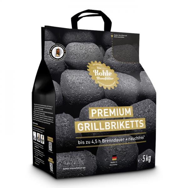 Grillzubehör Kohle-Manufaktur Grillbriketts 5 kg
