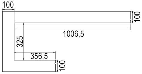 dru-metro-100xtl-41-einbaublende-rechts-zeichnung