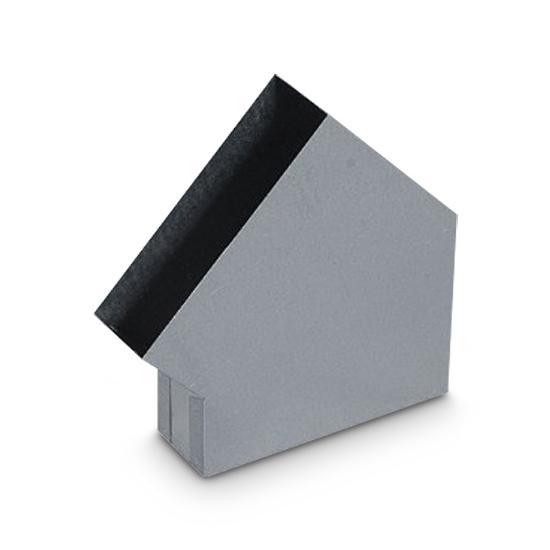 Winkel Schacht AA-Kaminwelt 150 x 50 mm 45°