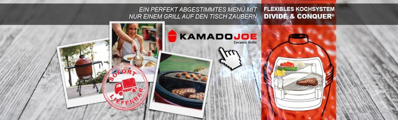 Keramikgrills von Kamado Joe entdecken