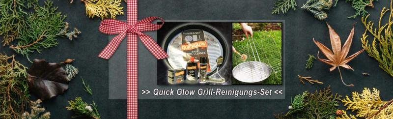 Quick and Glow Grill-Reinigungs-Set - eine saubere Sache!