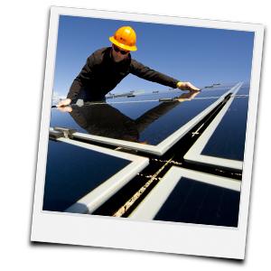 Sichtprüfung Solaranlage