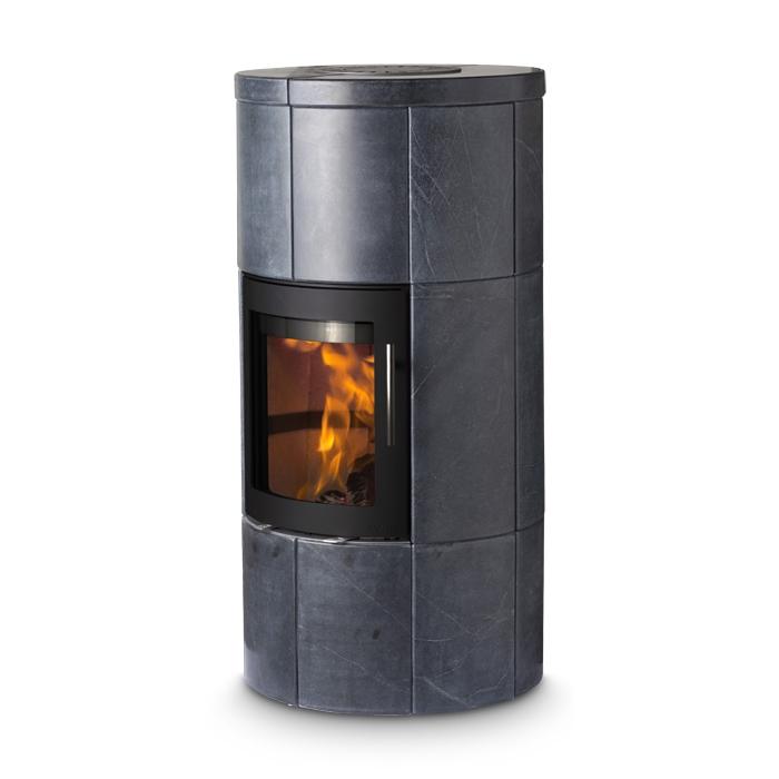 lotus speicherofen m dark 6 kw specksteinofen kamin. Black Bedroom Furniture Sets. Home Design Ideas
