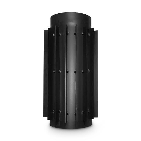 Abgaswärmetauscher AA-Kaminwelt DN 150 mm Länge 500 mm Stahlblech