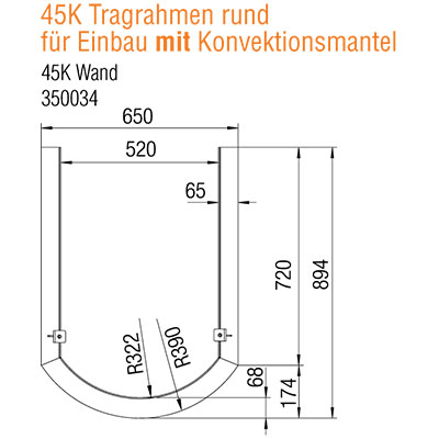 austroflamm-45x51-k-rund-tragrahmen-mit-kv-wand