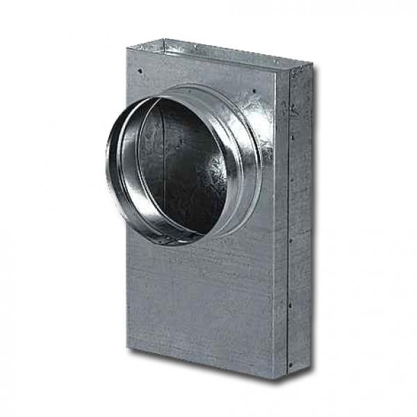Adapter Schacht auf Flexschlauch AA-Kaminwelt d 100 mm