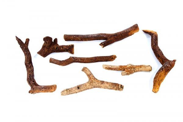 Keramische Holzscheite Xaralyn Luxus 7 Stück