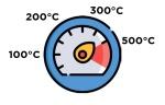 Alfa Pizza Icon Thermometer