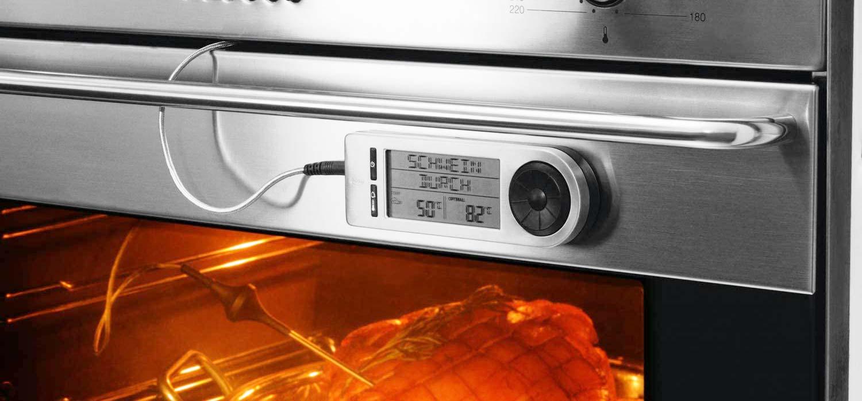 Grillthermometer Anwendungsbeispiel