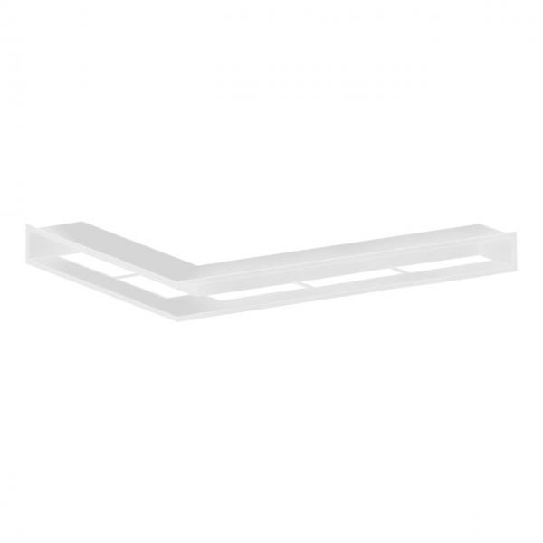Kaminluftleiste CB-Tec Eckluftleiste ungleichschenklig Weiß