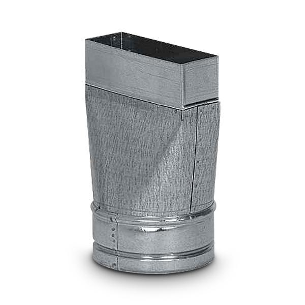 Reduzierung Schacht auf Flexschlauch sym. AA-Kaminwelt d 125 mm