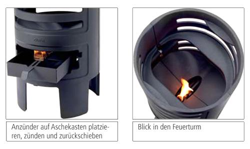 Leda Feuerturm Details