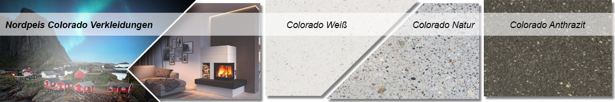 Produktbeispiel Denver und Texturen der Colorado-Farbvarianten