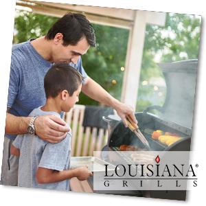 Grillen mit einem Pelletsmoker von Louisiana Grills