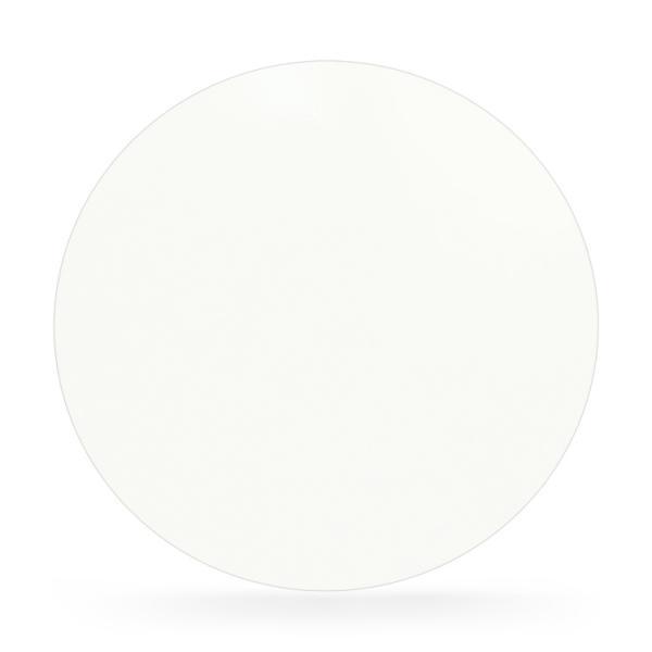 Stahl Bodenplatte Weiß Kreis Funkenschutz Platte Kamin Ofen