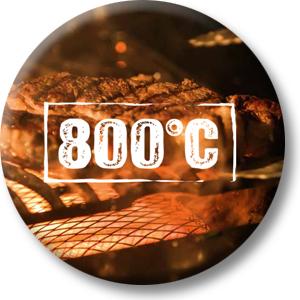 Infrarotbrenner mit bis zu 800°C
