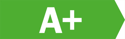 Energieeffizienz-Klasse A+