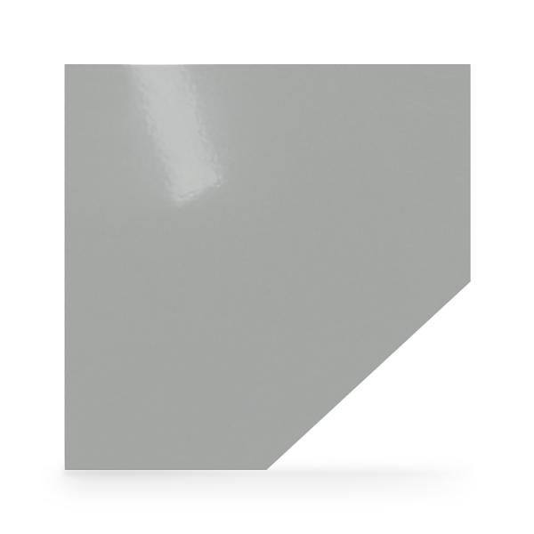 Stahl Bodenplatte Silber Diamant Funkenschutz Platte Kamin Ofen