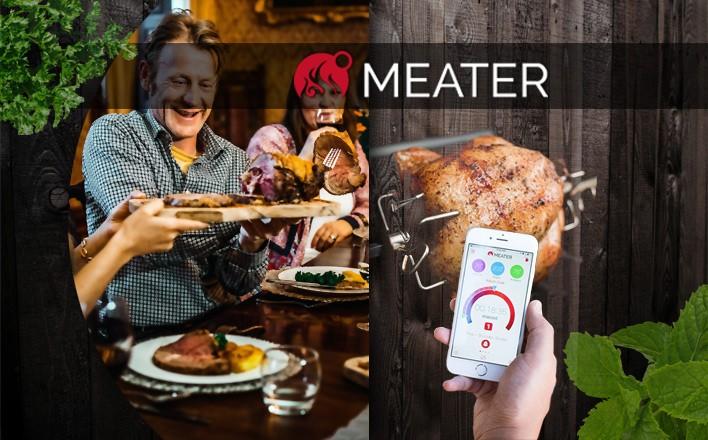 Entdecken Sie den Meater - das erste drahtlose Fleischthermometer
