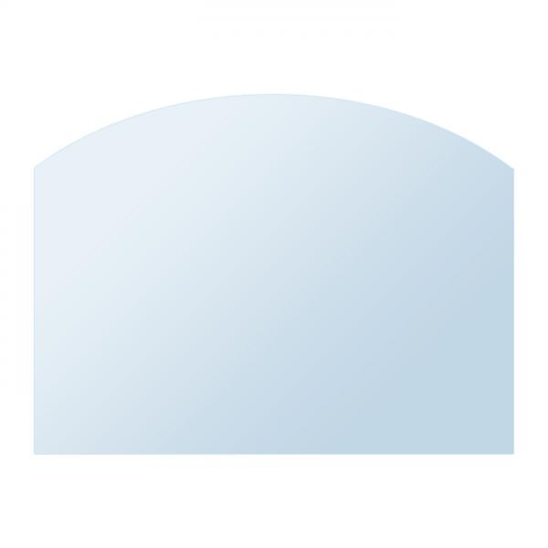 Glasplatte Kamin AA-Kaminwelt Zunge flach 50 cm tief