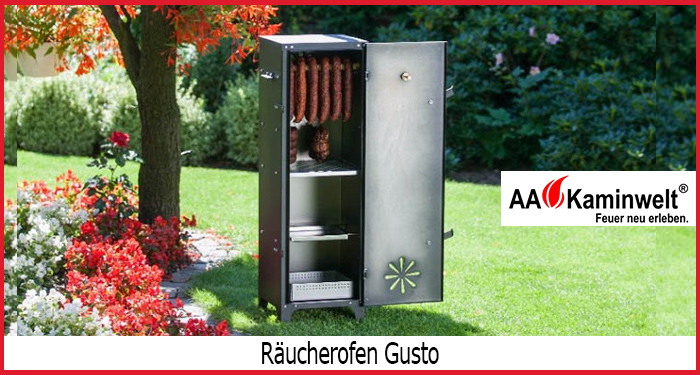 Mit dem Räucherofen von AA-Kaminwelt gelingt Ihnen das Räuchern von Wurst Daheim!