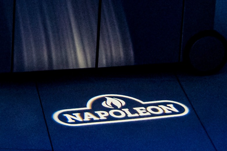 Leuchtlogo Napoleon