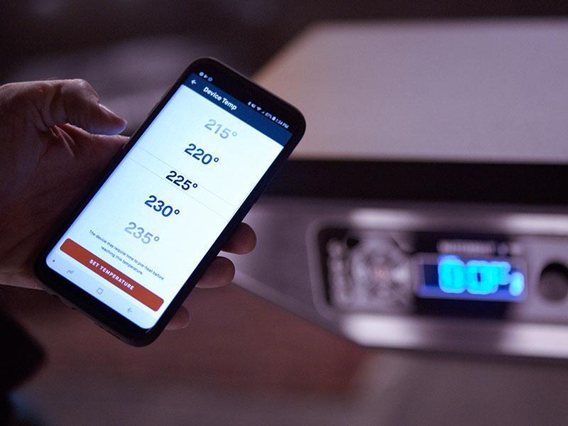 Bedienmöglichkeit per Smartphone