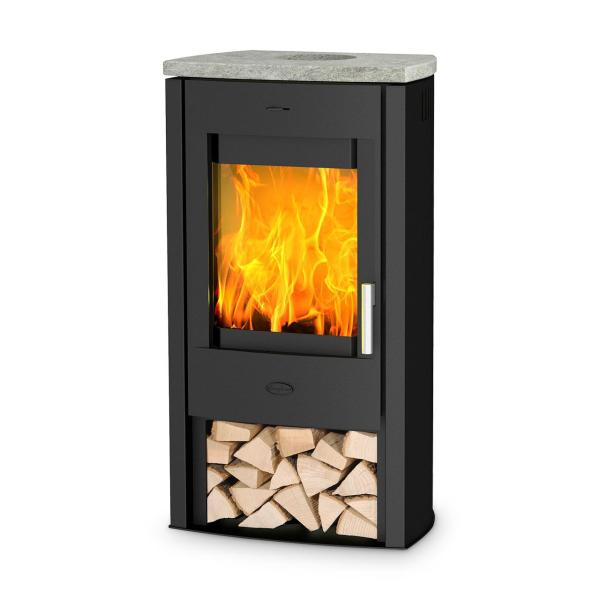 Kaminofen Fireplace Tuvalu Speckstein Top 6 kW