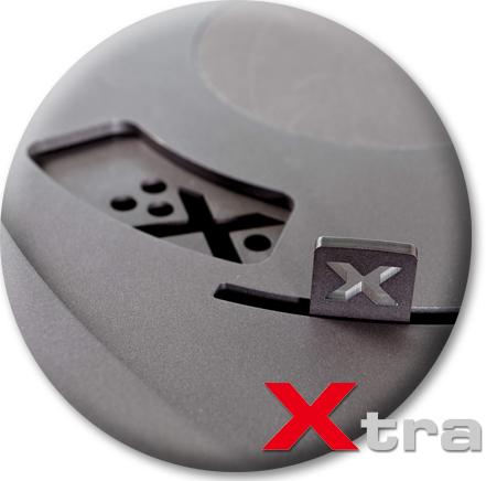Produktdetailansicht mit Fokus auf Xtra-Funktion