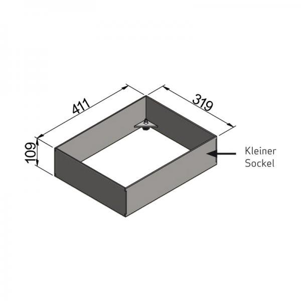 Scan 1003-B, Sockel für kleines Modul