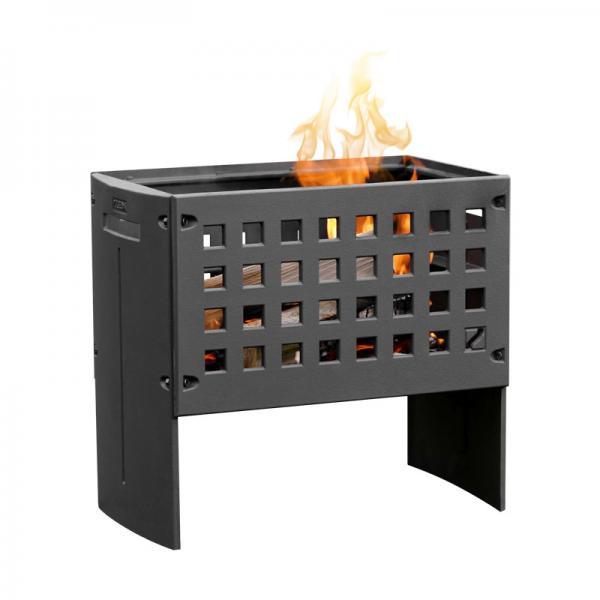 Terrassenofen Leda Feuerbox aus Gusseisen